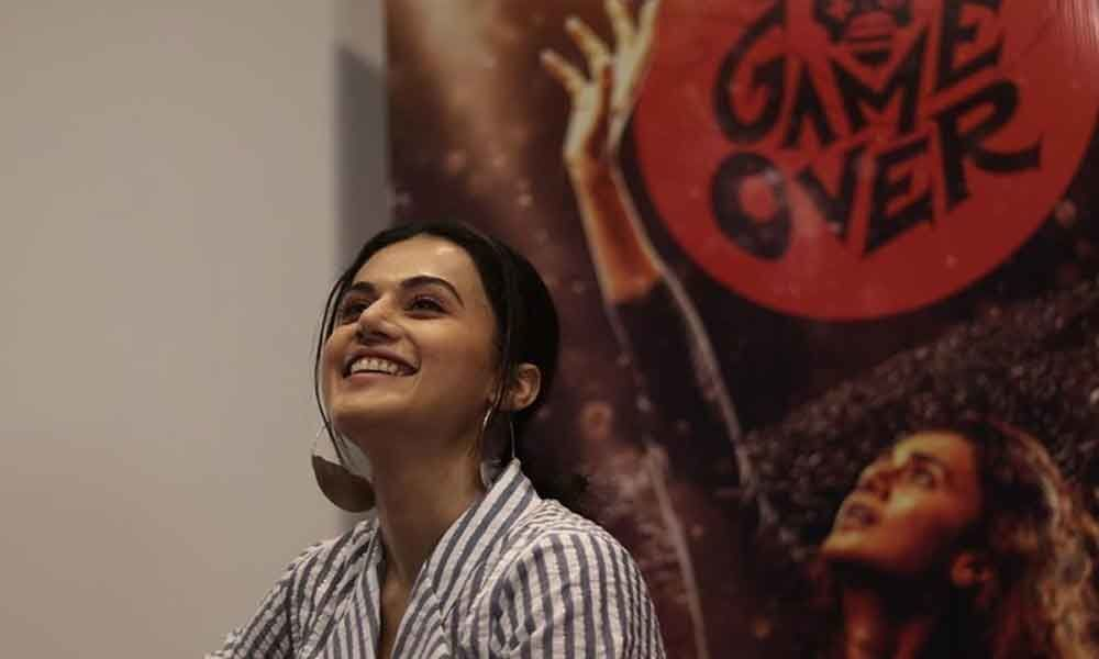 Youll get this kind of scripts very rarely: Taapsee