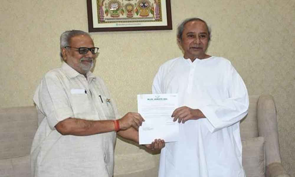 Odisha governor invites Patnaik to form government after he stakes claim