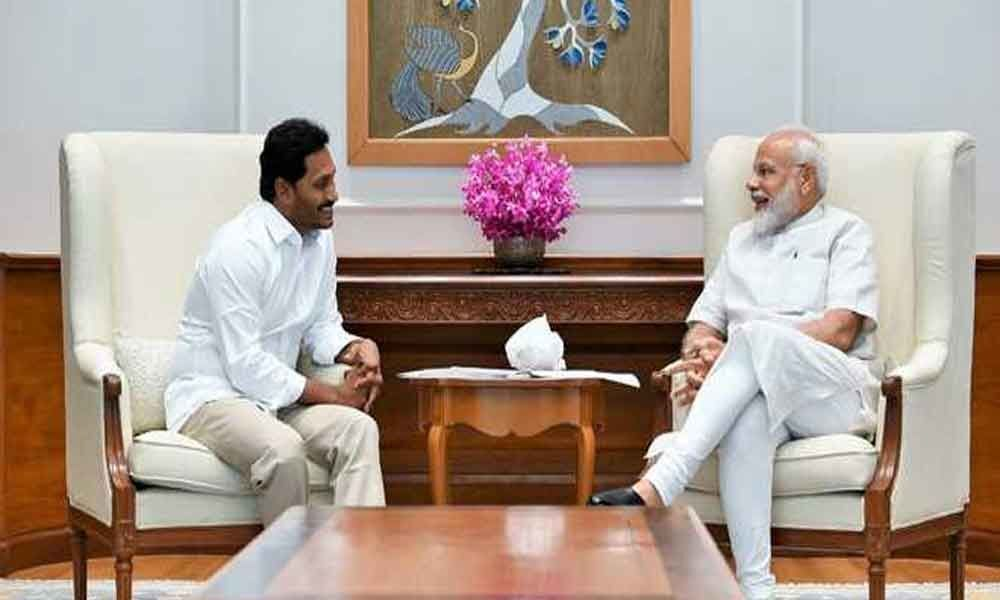 Could request, not demand, PM for special status to Andhra: Jagan Reddy