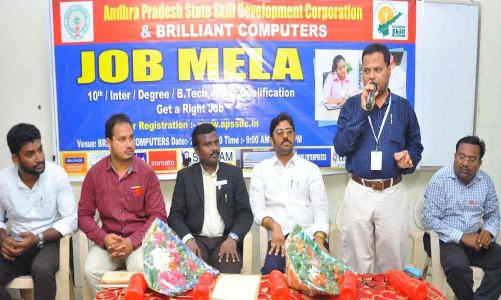APSSDC organises skill connect job fair
