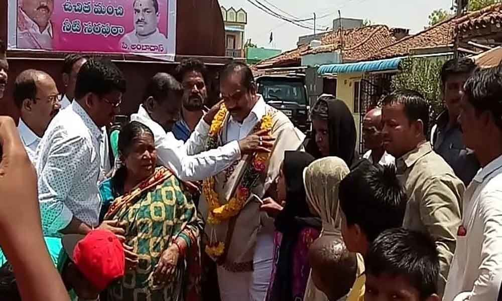 MLA launches water tankers