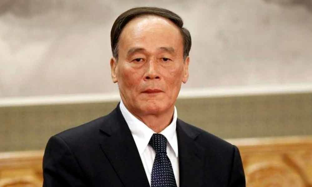 Chinese Vice President arrives in Pakistan; holds talks with top leadership