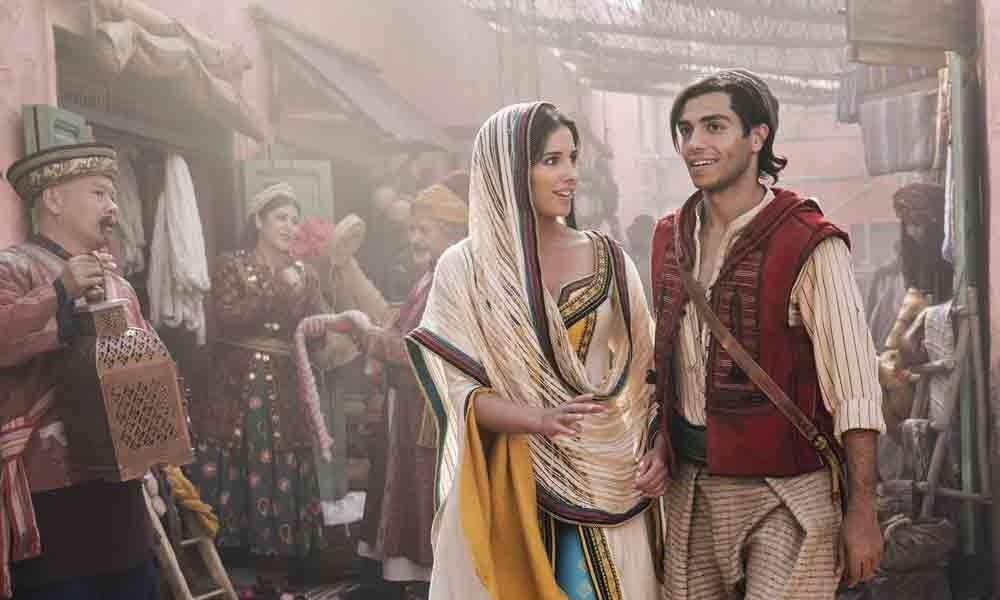 Aladdin soars at North American box office