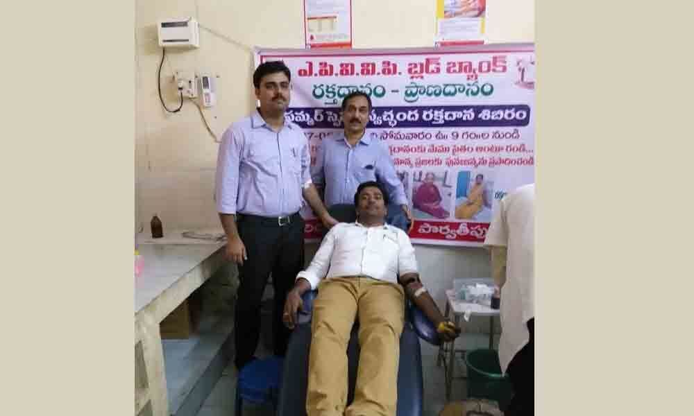 Motivate all to donate blood voluntarily: ITDA PO