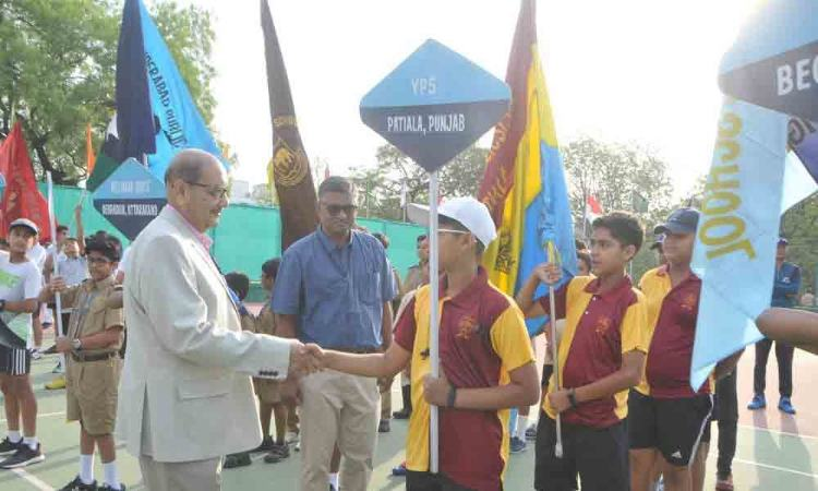 All India tennis tourney begins at Hyderabad Public School