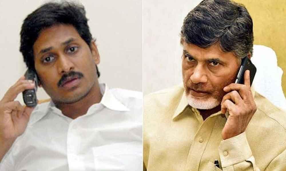 YS Jagan phone call to Chandrababu Naidu invites for swearing-in ceremony