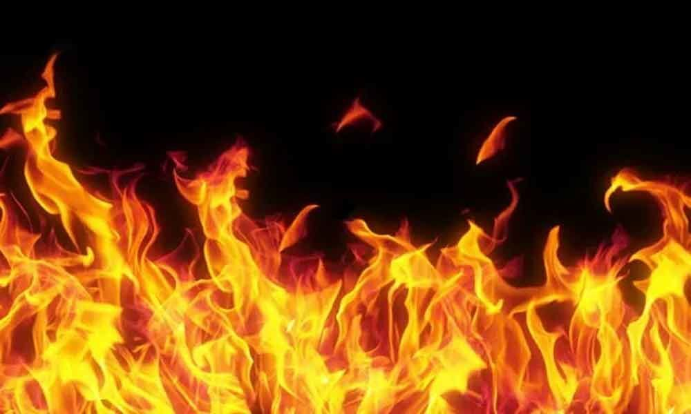 Minor fire in school; none hurt