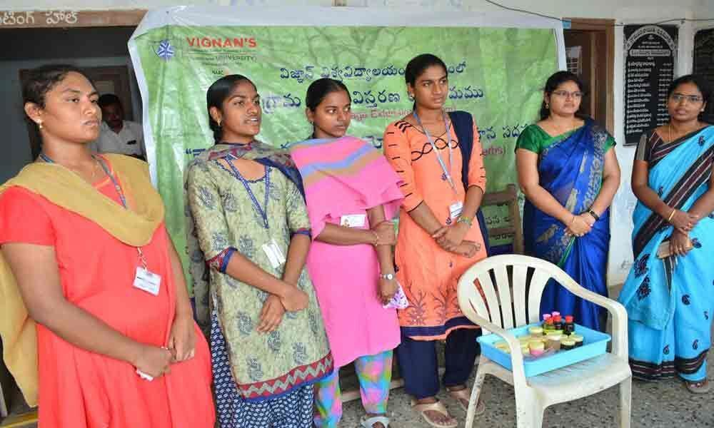 Need to create awareness on herbal plants stressed