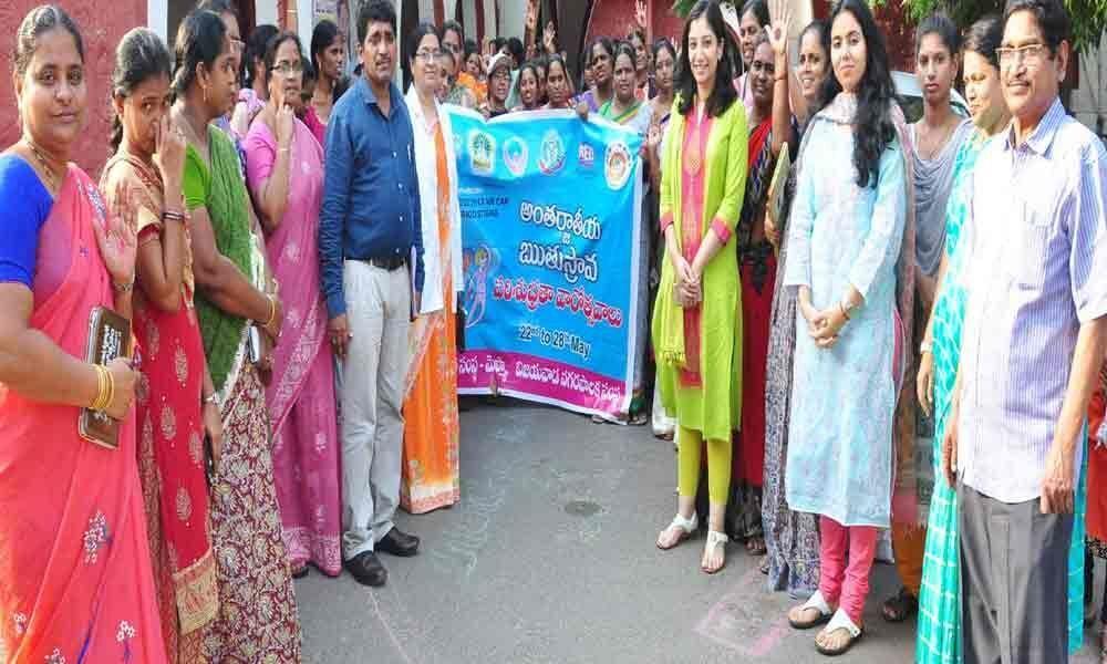 Need to create awareness on menstruation