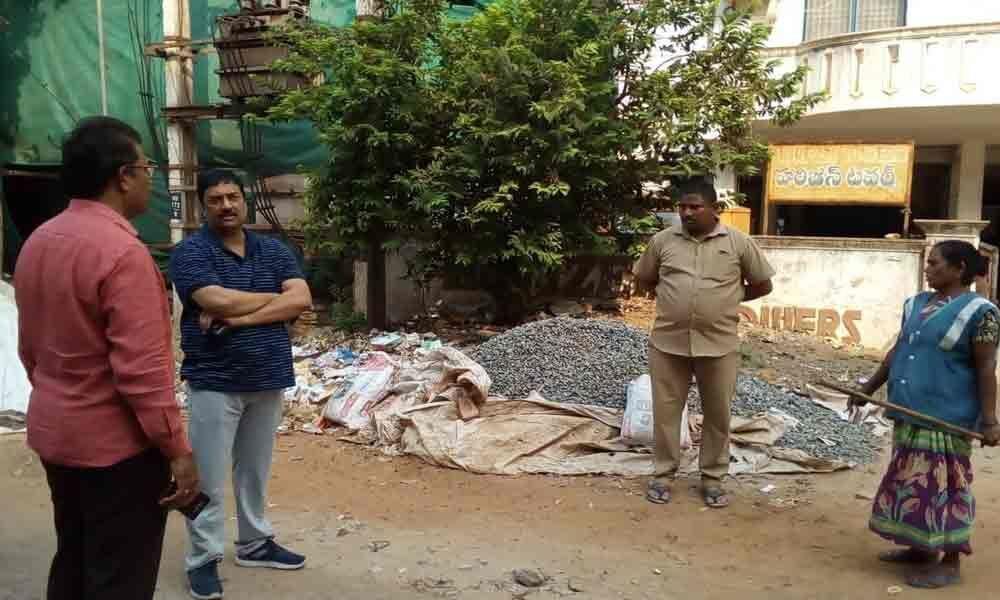 Sanitation works inspected KMC
