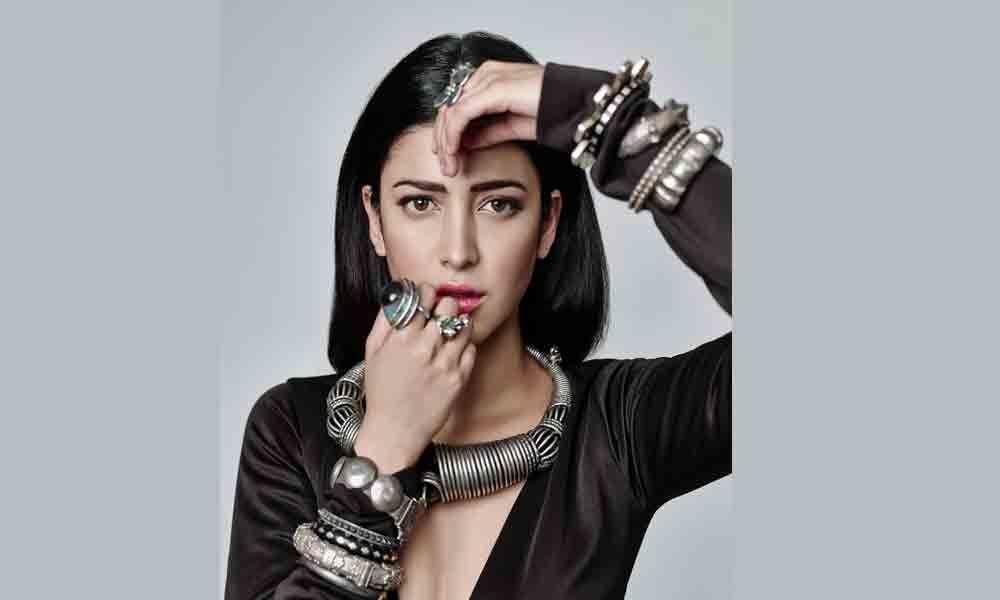 Shruti Haasan croons for Khamoshi