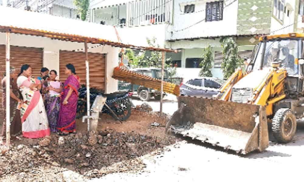 Development works inspected
