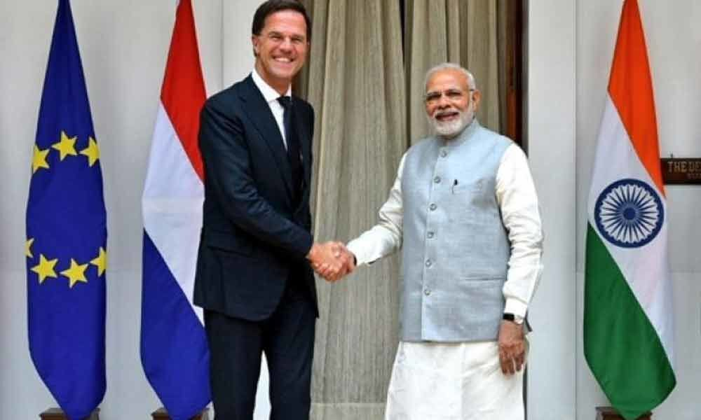 Netherlands look to co-operate with India under PM Modis