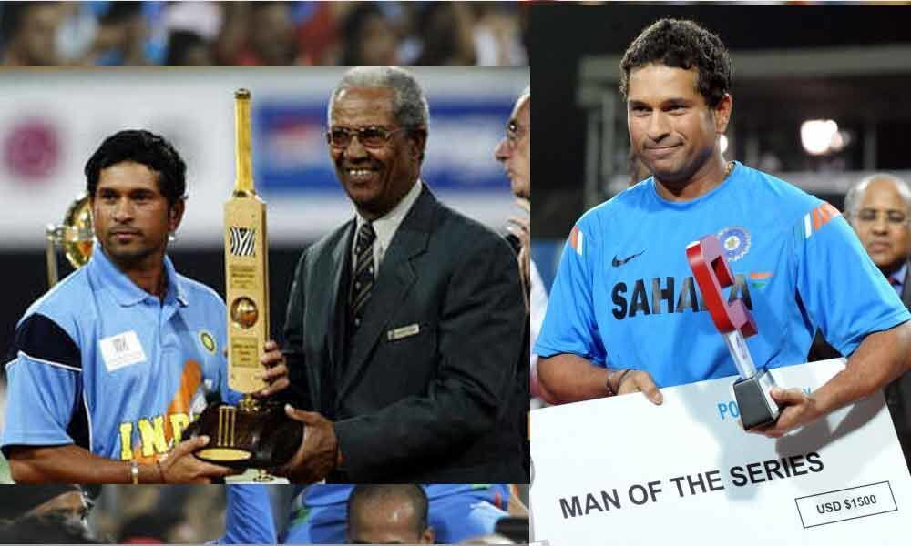 Sachin Tendulkar holds most number of Man of the Matches in the World Cup