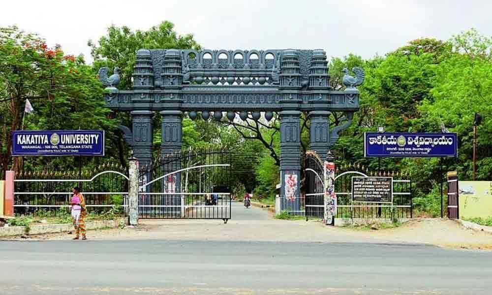Kakatiya University employee leaders support Praveen Kumar
