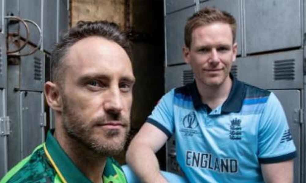 ICC World Cup 2019: Battle begins as South Africa takes on England