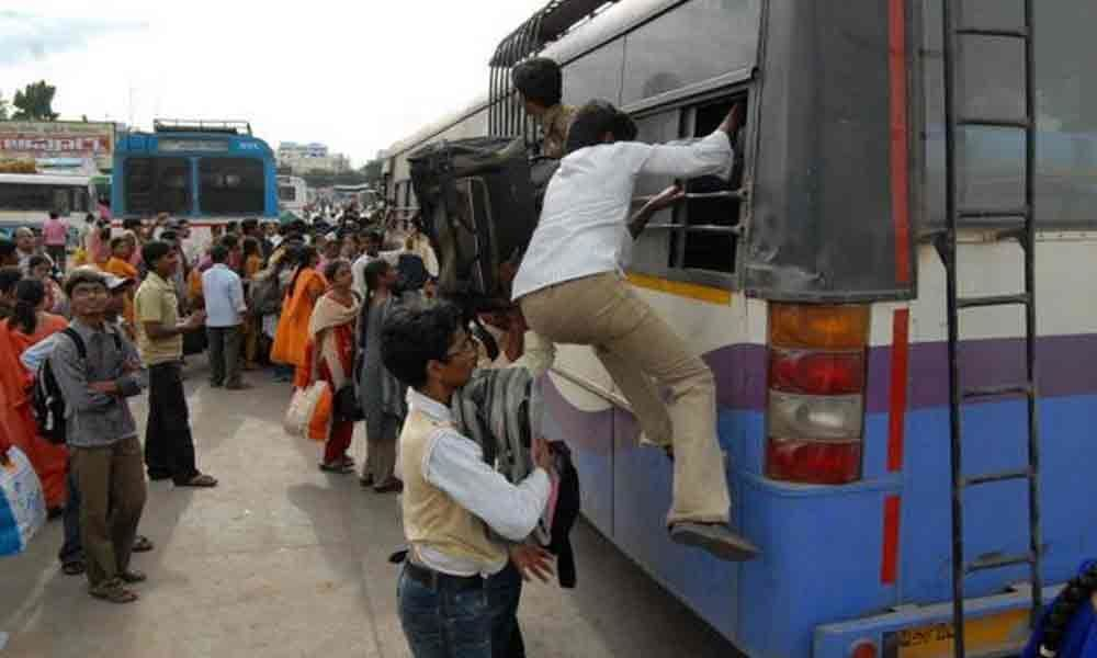 Commuters demand that APSRTC run buses late night