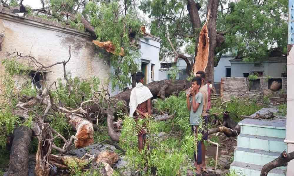 Heavy rains wreak havoc in Kurnool dist