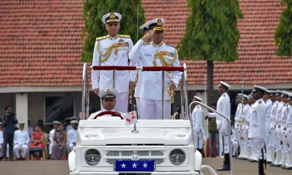 AK Jain takes charge as FOC-in-C of Eastern Naval Command