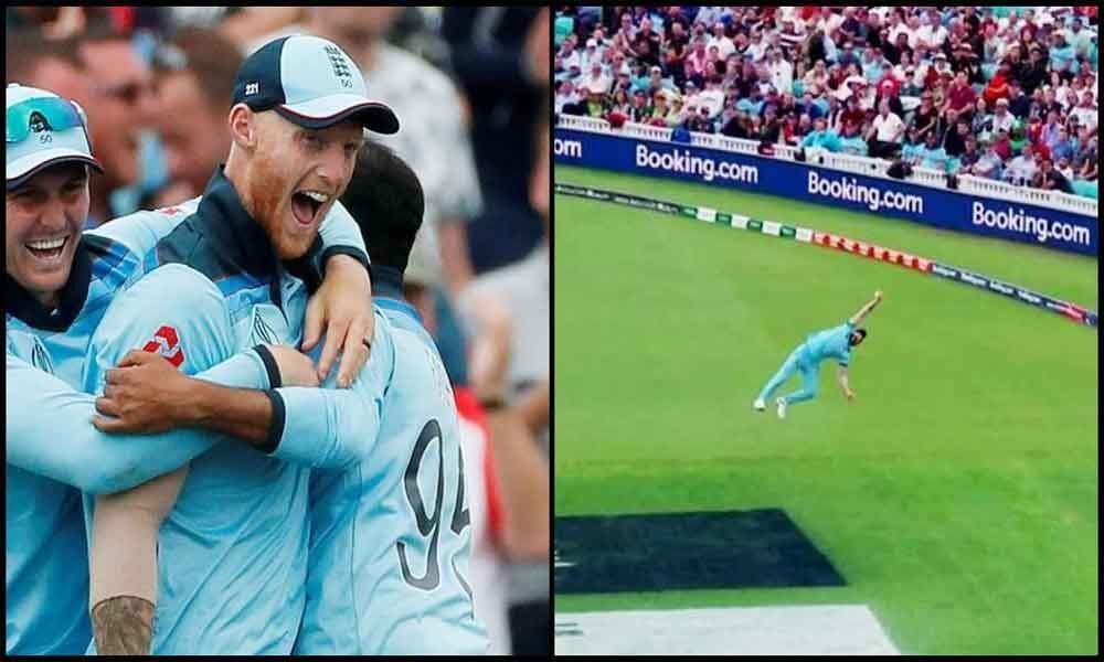 ICC World Cup 2019: ENG vs SA; Ben Stokes takes spectacular one-handed catch; see video