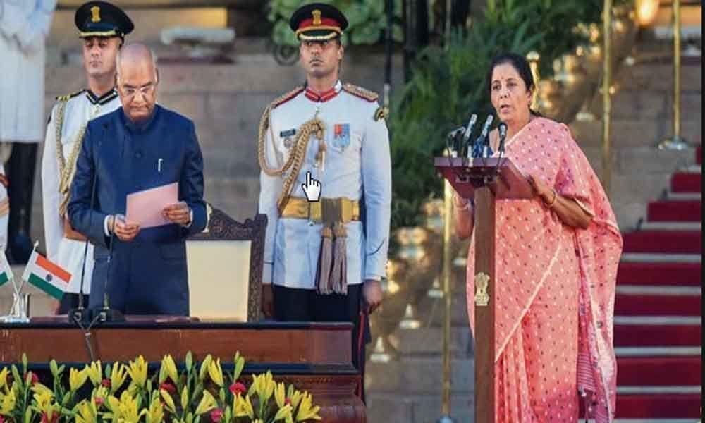 Nirmala Sitharaman gets Finance Ministry