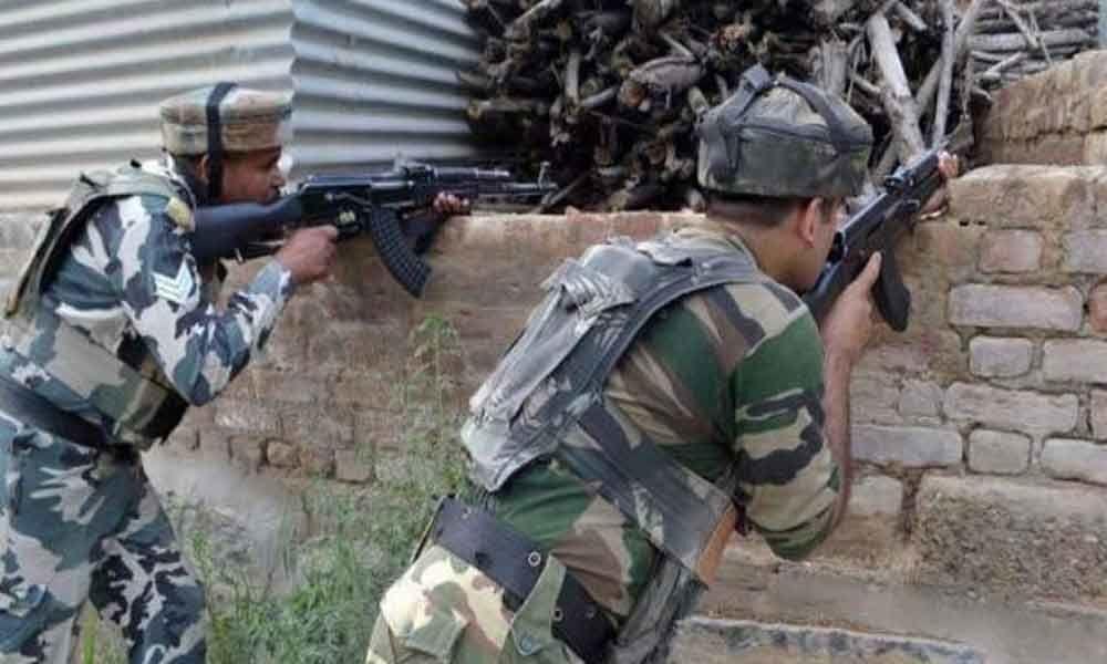 Three militants killed in Kashmir