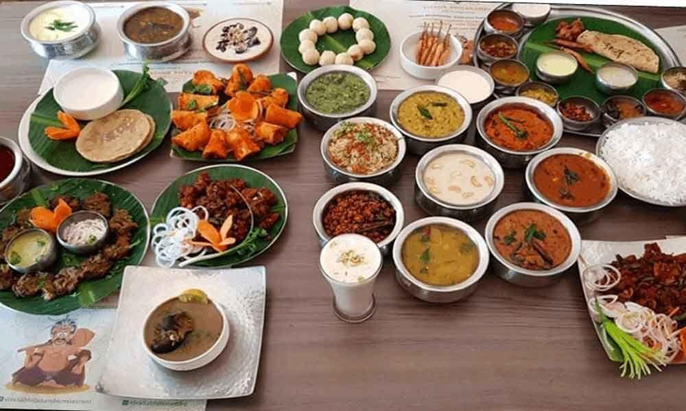 Telangana food festival at Promenade Aditya Park
