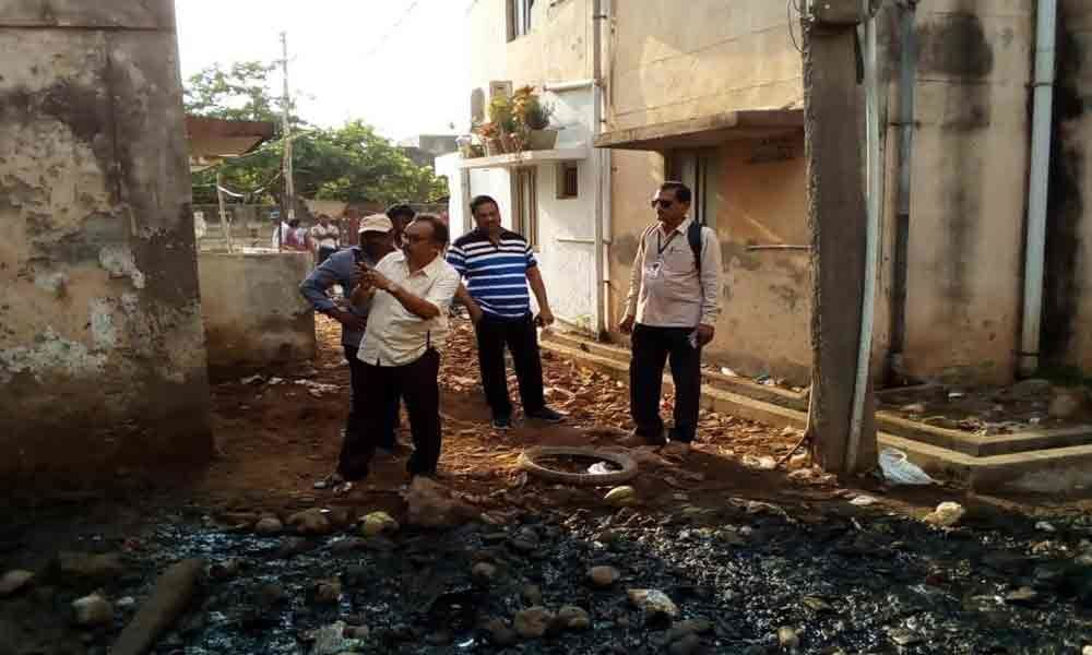 Officials ordered to maintain sanitation properly