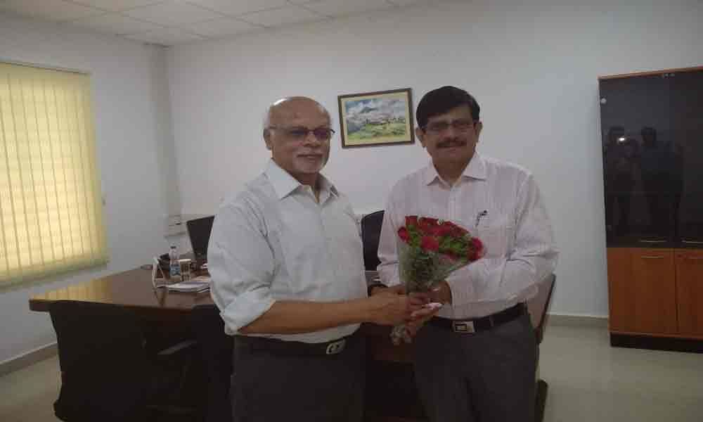 New IISER Registrar takes charge
