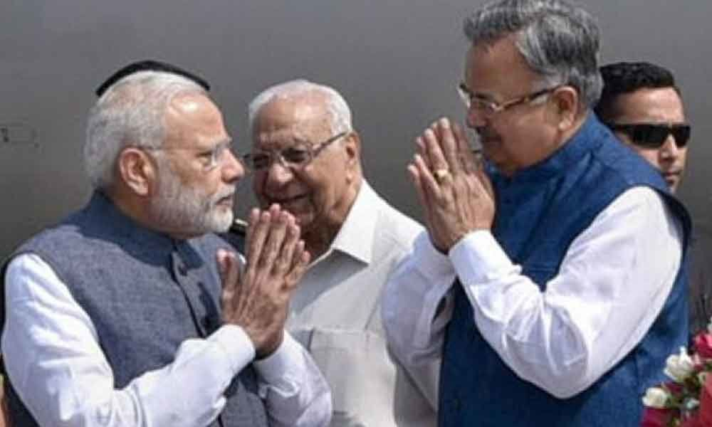 Government willing to fuflil poll promises: Raman Singh lauds Modi cabinet