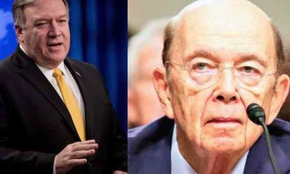 Mike Pompeo and Wilbur Ross to address this year