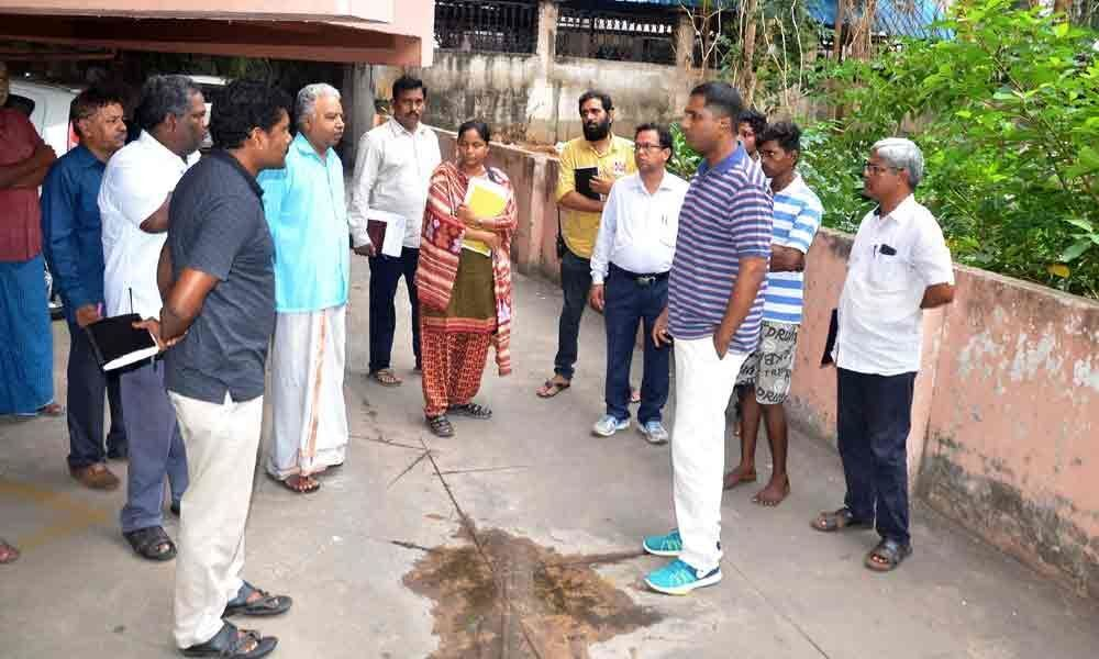 GVMC imposes penalty on flat owners for keeping debris at the complex