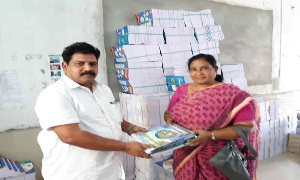 1.50L textbooks to be supplied to government schools in Vijayawada