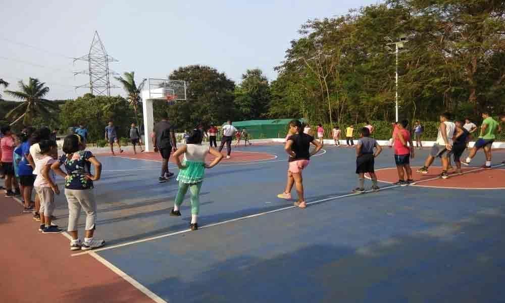 1,650 children participate in summer coaching camp