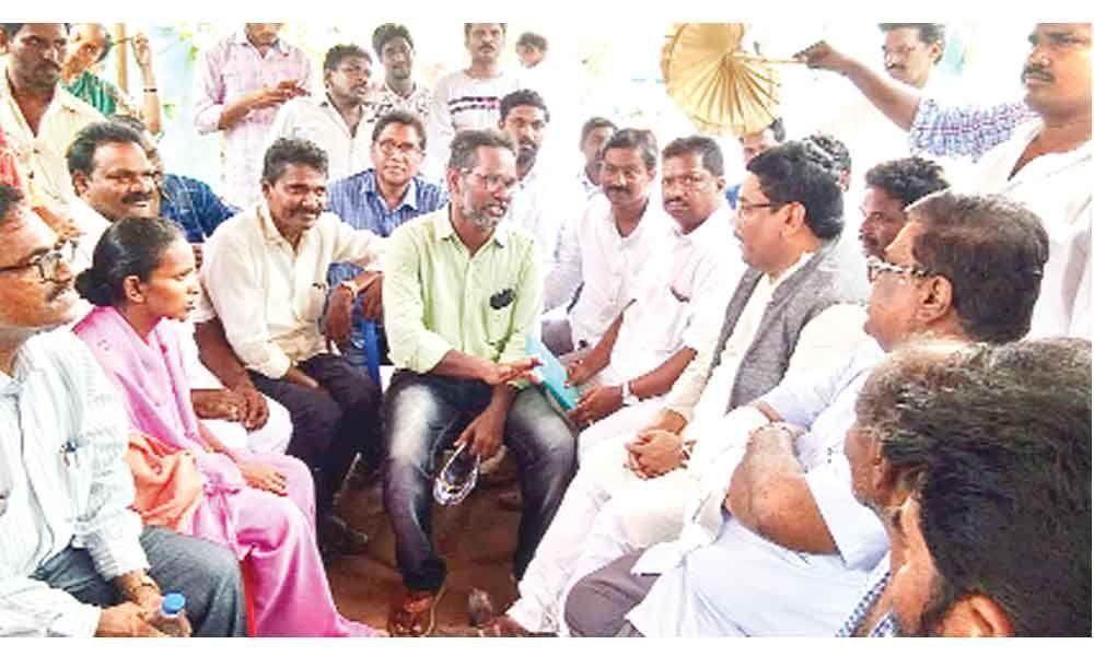 Will seek govt job, land to Srinivas