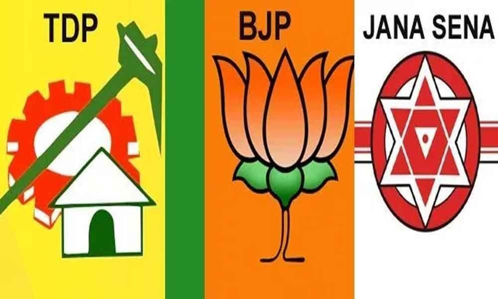 TDP, Janasena leaders join BJP
