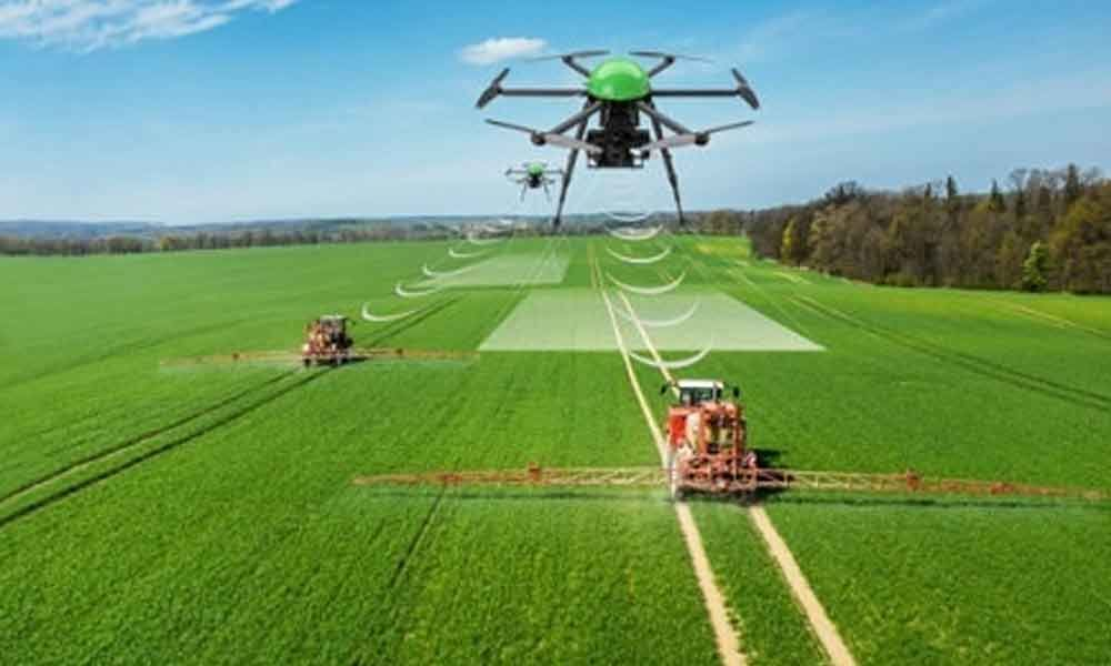 Gopi Rajas Drone Technology saves Indian Farmers Future