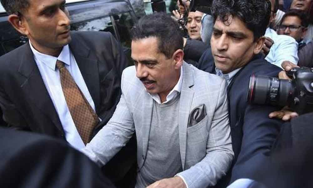 Vadra appears before Enforcement Directorate in money laundering case