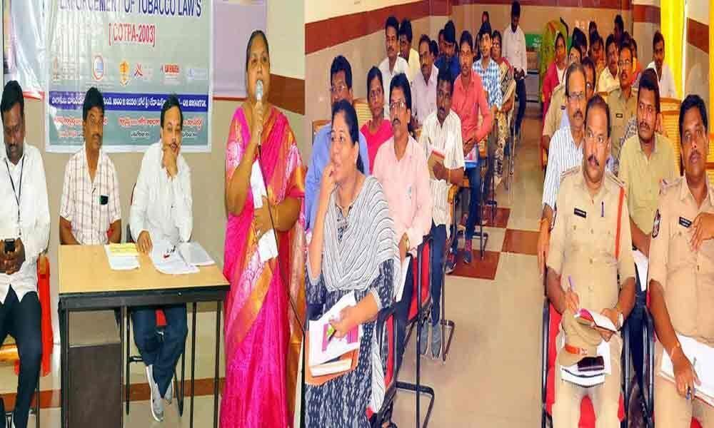 Anti-Tobacco workshop held District Central Hospital
