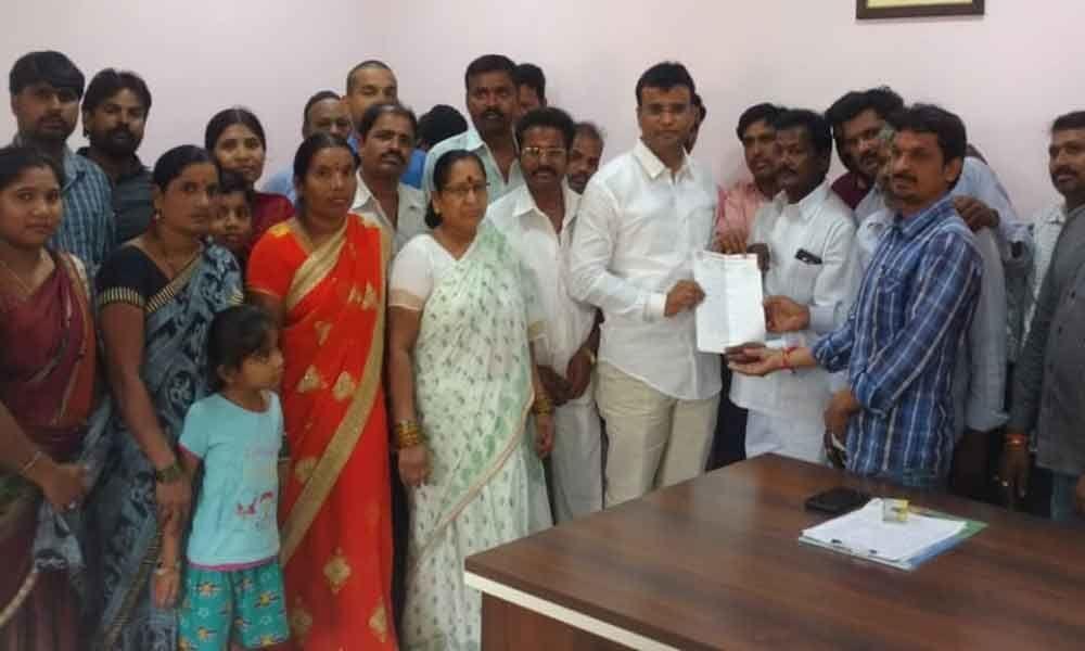 Solving public issues my main motto, vows KP Vivekananda