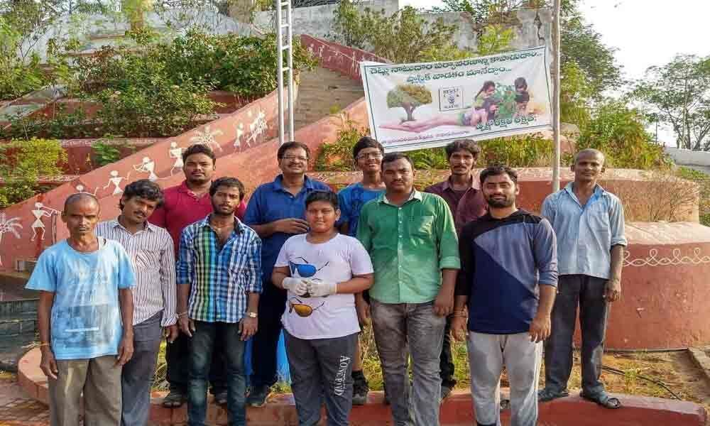 Team of former software engineers to develop greenery on Gandhi Hills