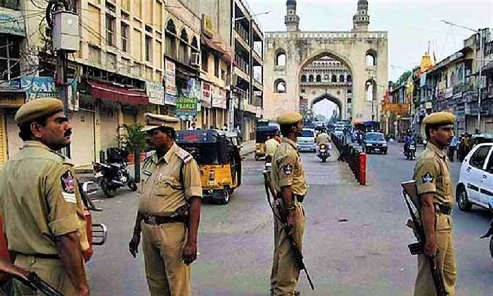 Top cops supervising the Id-ul-Fitr prayers in three police Commissionerate limits