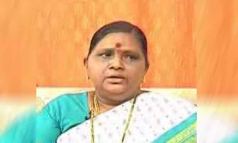 Former minister Kuthuhalamma hospitalized