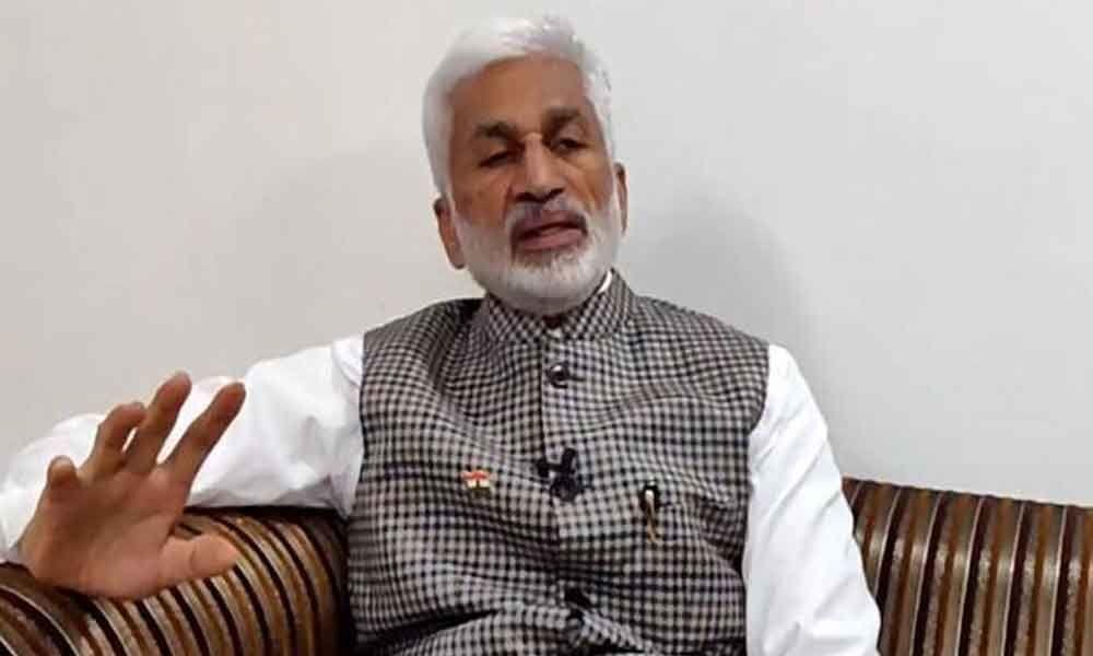 MP Vijayasai Reddy comments on former Speaker Kodela