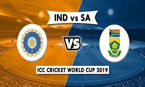 India vs South Africa Live Score, ICC Cricket World Cup 2019: Rohit Sharma