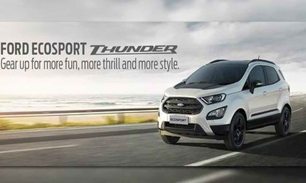 Ford introduces new Thunder Edition of EcoSport SUV