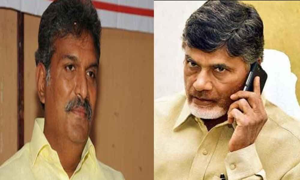 Chandrababu Naidu phone call to MP Kesineni Nani