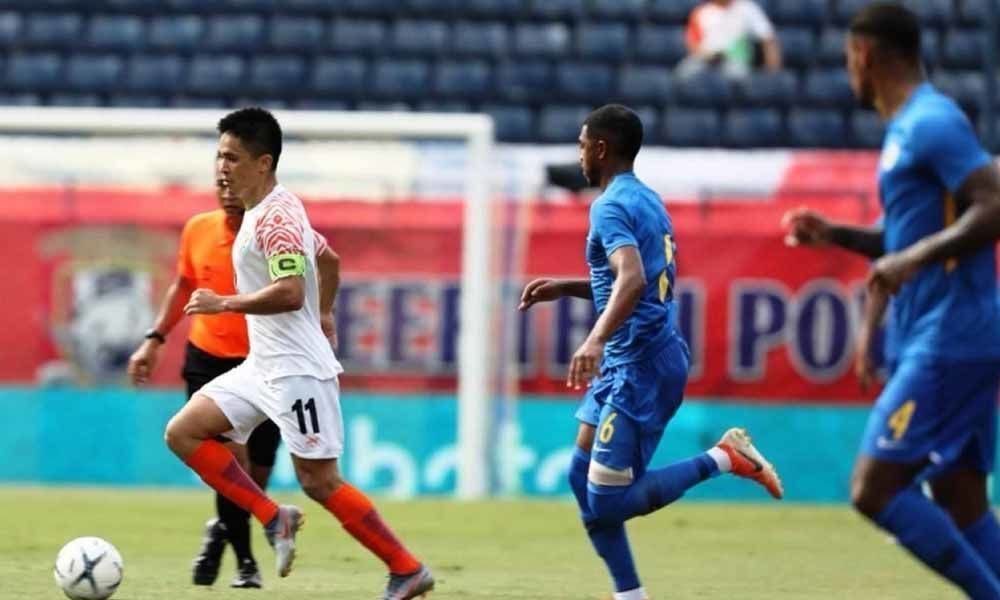 Sunil Chhetri scores in milestone match but India lose 1-3 to Curacao