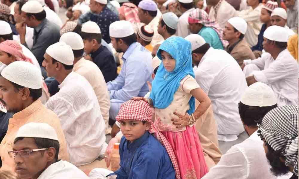 Prayers mark Ramzan celebrations in city