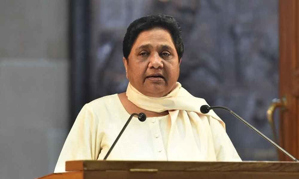 Mayawati attacks Modi over unemployment data